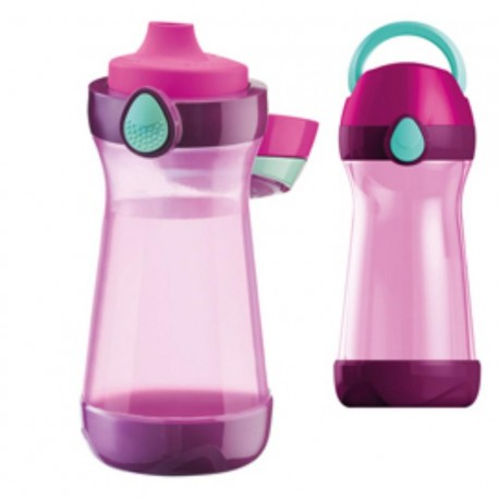 BORRACCIA PICNIK EASY 430ML VIOLA/FUXIA MAPED