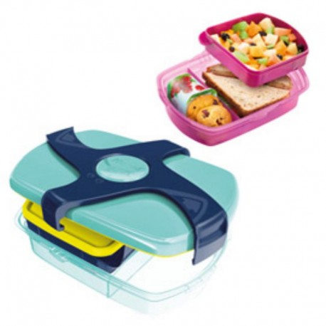 LUNCH BOX PICNIK EASY 1,78L AZZURRO/BLU MAPED